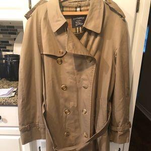 Burberry Men's Trench Coat-Vintage